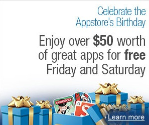 Celebrate Amazon's Birthday With 14 Free Apps!