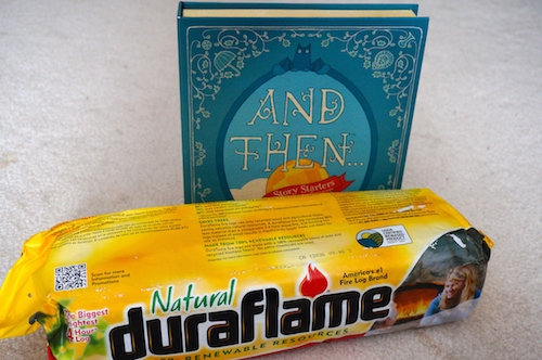 duraflame® Fast Lighting Natural Fire Logs & Story Starters {Review}