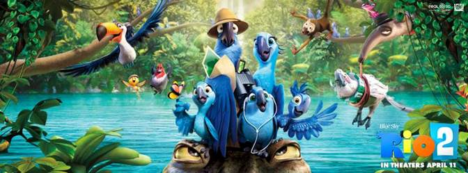 """RIO 2"" from 20th Century Fox Arrives in Theaters April 11th! #Rio2"