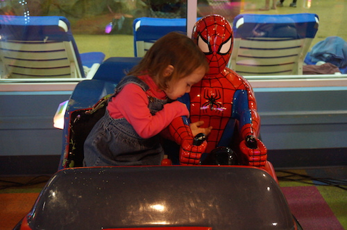 Wordless Wednesday: Why Yes Spiderman You Do Have Huge Muscles…