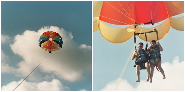 Wordless Wednesday:  Parasailing!