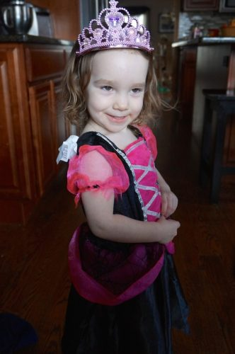 Wordless Wednesday:  Super Cute Princess Witch….Say What?