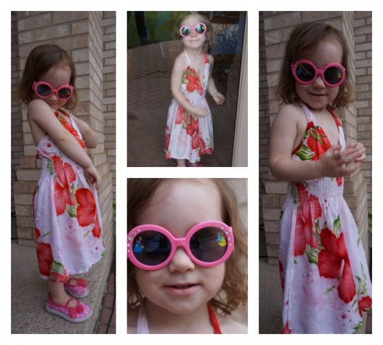 Wordless Wednesday:  My Little Fashionista…