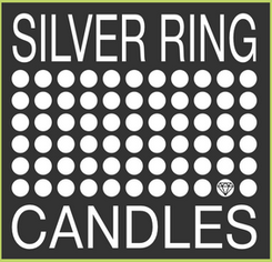 silver ring candles logo