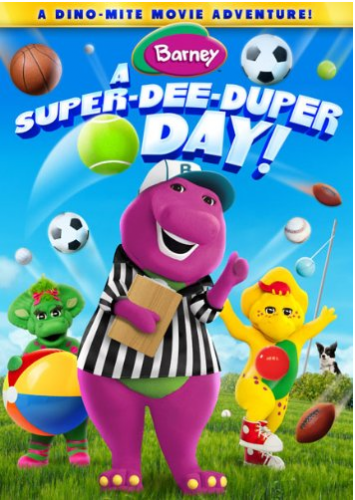 Barney A Super Dee Duper Day