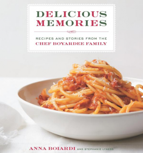 anna boiardi cookbook