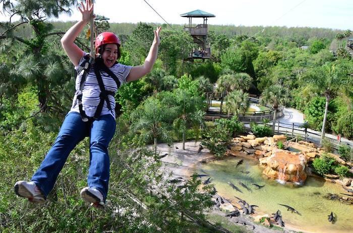 gatorland ziplining