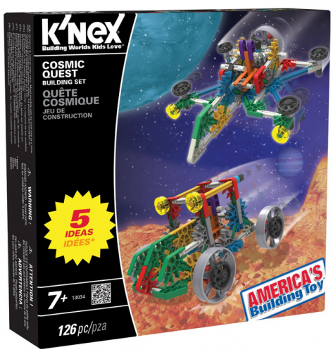 5 Building Sets in One With the Cosmic Quest Set #KNEX {Review}