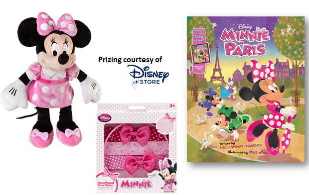 minnie mouse prize pack