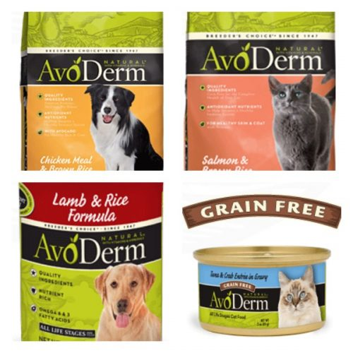 avoderm pet food