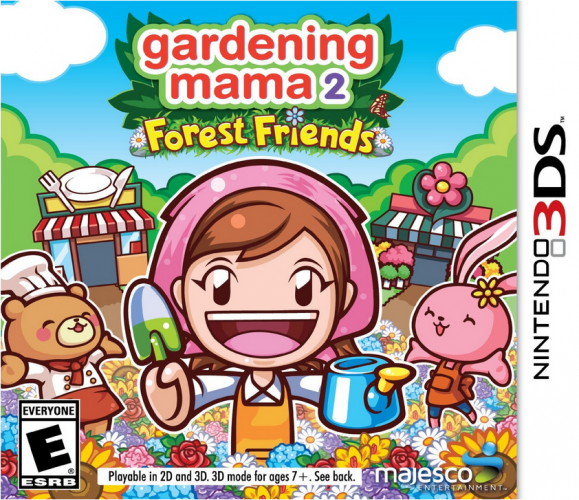 Nintendo 3DS Game Review:  Gardening Mama 2: Forest Friends