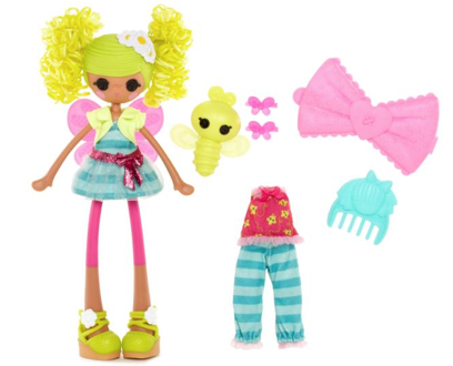 This week's Lalaloopsy Girls: Pix E. Flutters & Bea Spells-A-Lot