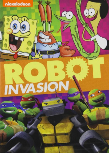 nickelodeon robot invasion