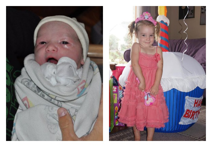 Wordless Wednesday: Happy 3rd Birthday to My Baby Girl!