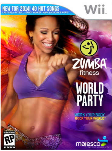 Nintendo Wii Game Review:  Zumba Fitness World Party