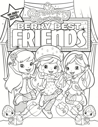 FOX 1270 SS Berry Best Friends Coloroing Sheet_FM