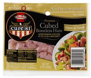 HORMEL CURE 81 Cubed Ham
