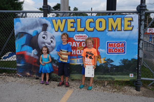 "Our ""Day Out with Thomas: The Thrill of the Ride Tour 2014"" {Union, IL} #dayoutwiththomas #dowt #ThomasTime"