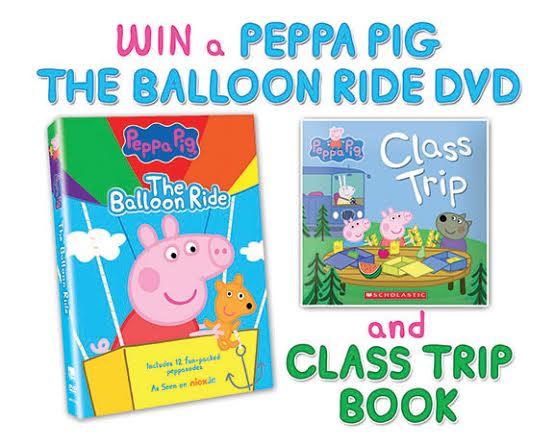 peppa pig prize