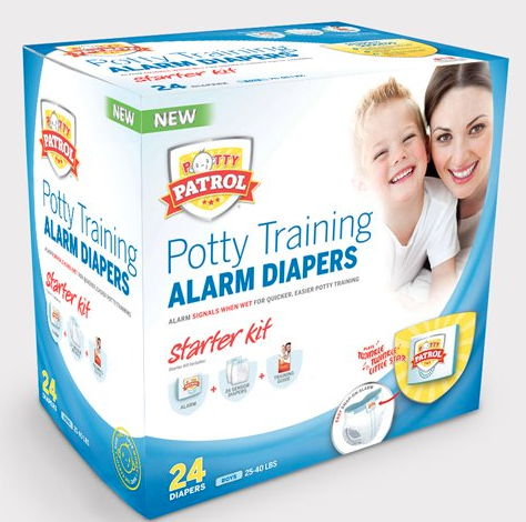 Potty Training Potty Patrol Alarm Diapers {Review}