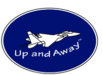 up and away logo