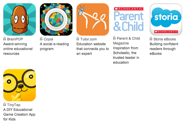 verizon apps for learning