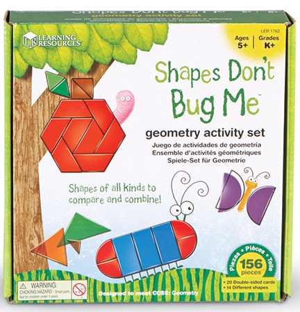 Shapes Dont Bug Me Geometry Activity Set 1