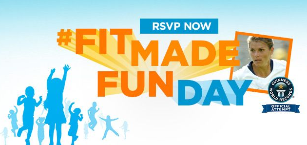 Records Will Be Broken on September 6th For National Fit Made Fun Day! ‪#‎FitMadeFun