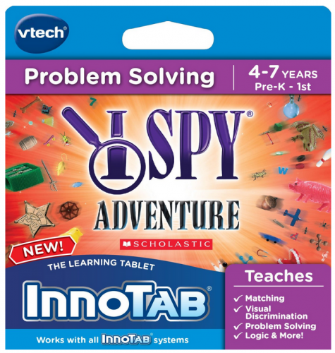 VTech InnoTab Game Review: I Spy Adventure