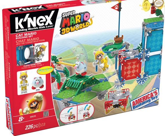 knex cat mario building set