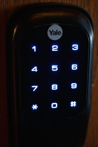 yale touchscreen lock 2