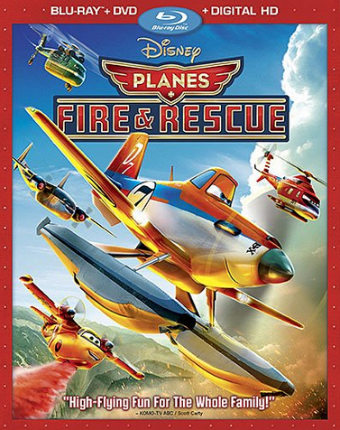 disney Planes Fire and Rescue dvd
