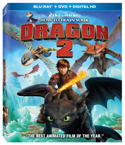 How to Train Your Dragon 2 bluray
