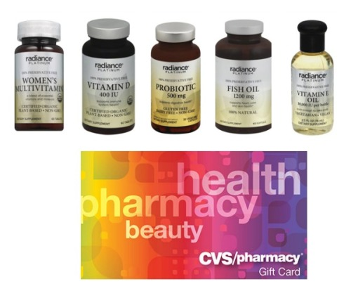 cvs radiance platinum prize pack