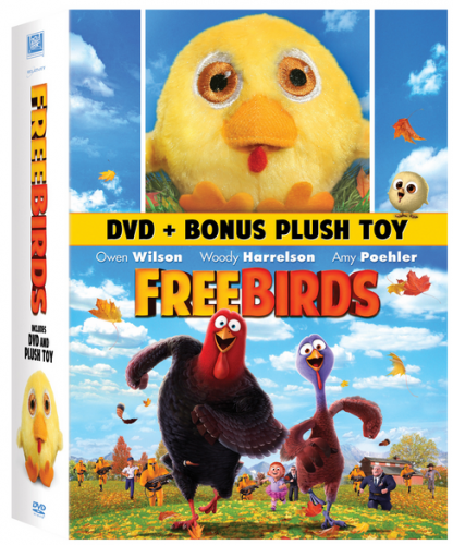 free birds plush dvd