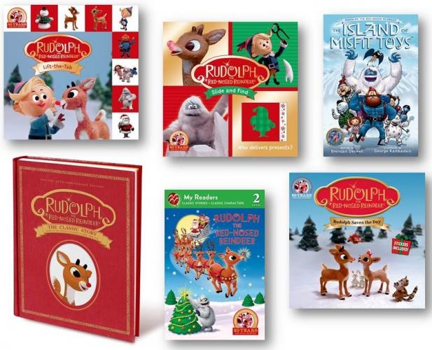 rudolph reindeer books