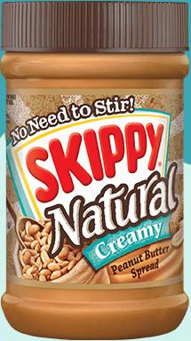 skippy natural creamy