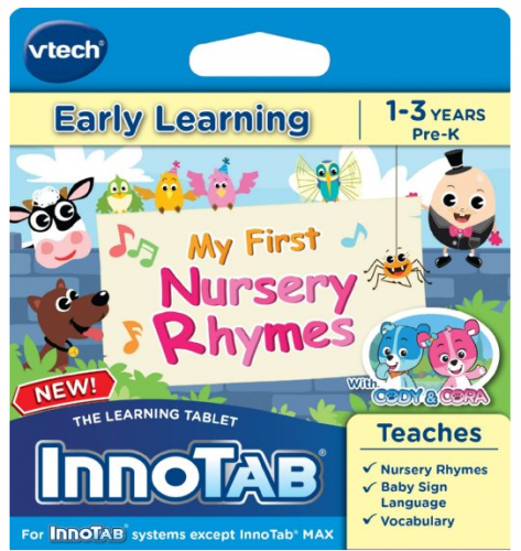 vtech innotab My First Nursery Rhymes