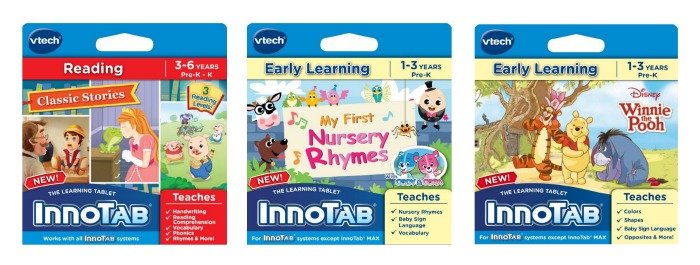 VTech InnoTab Games For Toddlers – Winnie the Pooh, Nursery Rhymes & Classic Stories