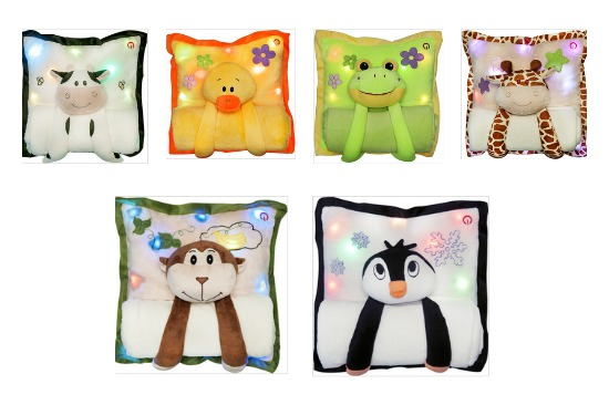 The Lullaby Light Up Pillows From Melody Mates {Review}