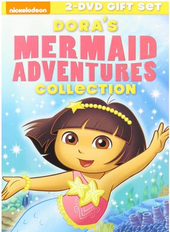 Dora The Explorer Mermaid Adventures Collection dvd