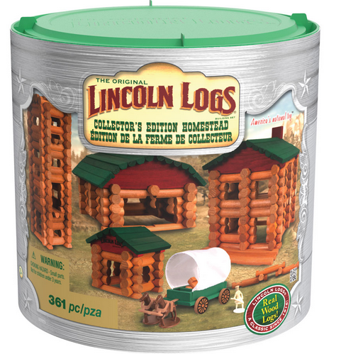 Lincoln Logs Collector's Edition Homestead {Review} #KNEX