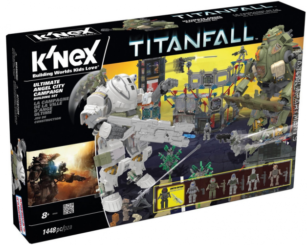 Titanfall Ultimate Angel City Campaign Building Set #KNEX {Review}