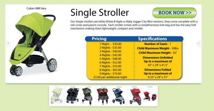 baby wheels orlando renting 1