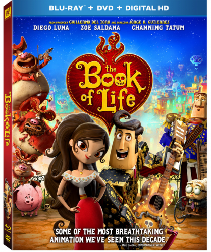 book of life bluray