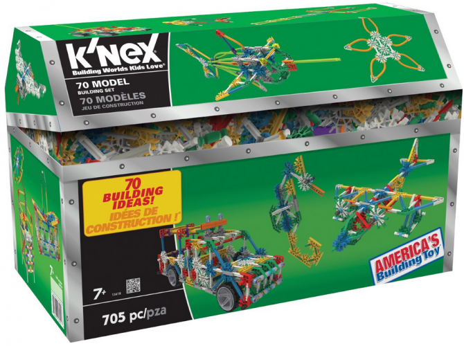 K'NEX 70 Model Building Set {Review} #KNEX