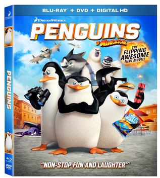 penguins of madegascar dvd