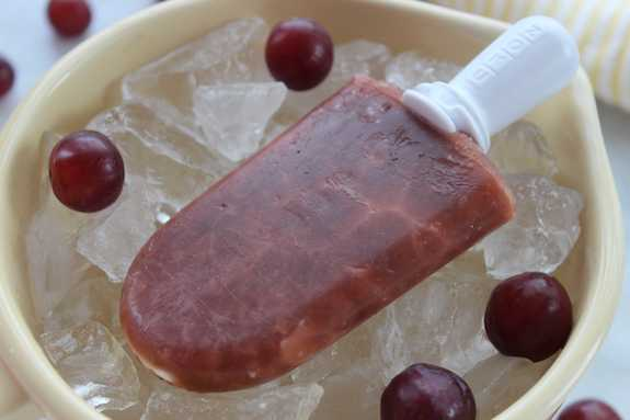 All Natural Grape Popsicles 7