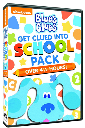 Blues Clues Get Clued Into School Pack