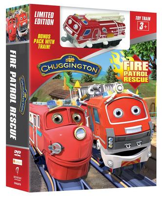 Chuggington Fire Patrol Rescue  Train